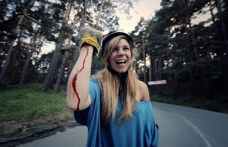 Carving the Mountain, des filles et du longboard