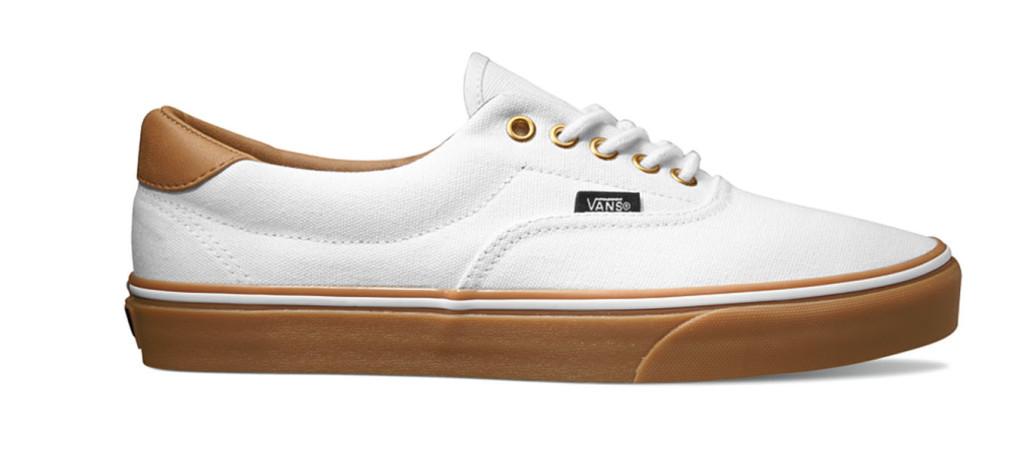 Era 59 True White:Classic Gum chaussures skate vans
