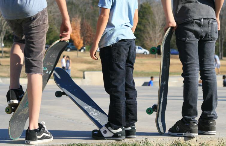 Interdiction de skater à Nice