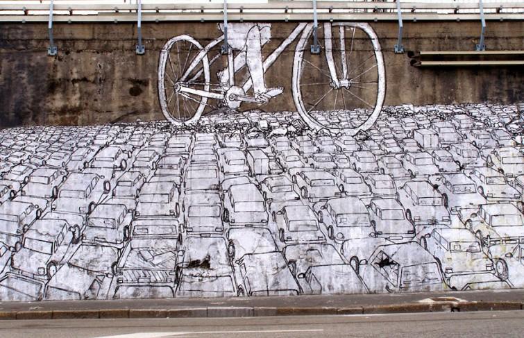 Sur les traces de Blu, le graffeur vidéaste italien